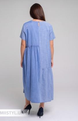 Платье Laqbi Y20113B Индиго