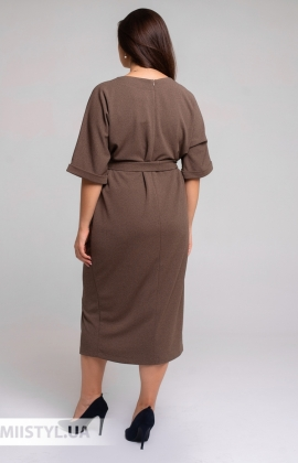 Платье Nikolo Polini 3110 Бежевый/Меланж