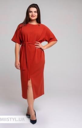 Платье Nikolo Polini 3110 Терракотовый