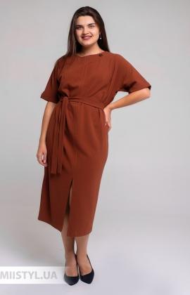 Платье Nikolo Polini 3110 Каштановый