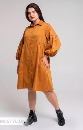 Платье Nikolo Polini 3129 Горчичный
