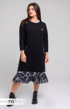 Платье Mari&Mar 007550 Черный