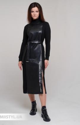 Платье Shocolet 80367 Черный