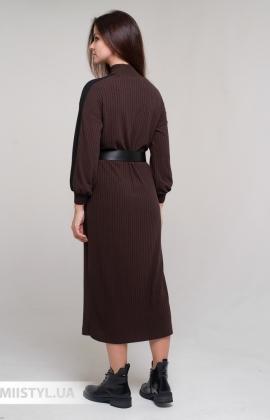 Платье Chilia 80365 Коричневый
