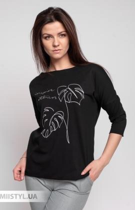 Блуза Giocco 5658 Черный/Принт