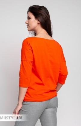 Блуза Giocco 5659 Оранжевый/Принт