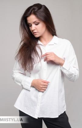 Блуза Bebe plus 24967 Белый/Принт