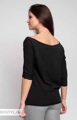 Блуза Giocco 5639 Черный/Принт