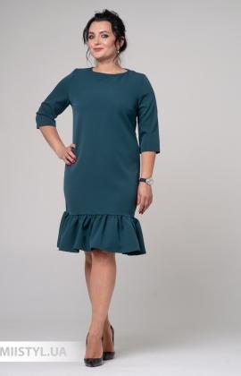 Платье La Fama 1210-B Изумрудный