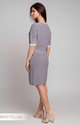 Платье Serianno 10С7326 Лиловый/Люрекс