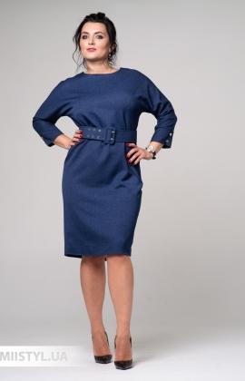 Платье La Fama 8080-B Синий