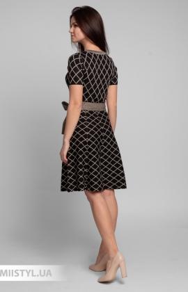 Платье Beauty Women 01609 Черный/Люрекс