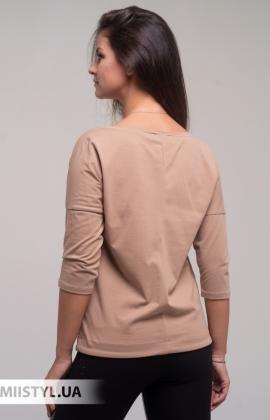Блуза Giocco 5873 Кемел/Принт