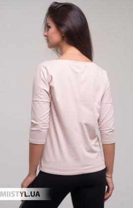 Блуза Giocco 5873 Пудра/Принт