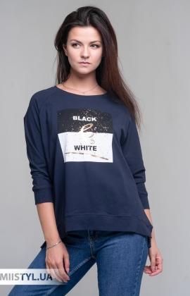 Блуза Giocco 5819 Темно-синий/Принт