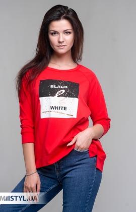Блуза Giocco 5819 Красный/Принт