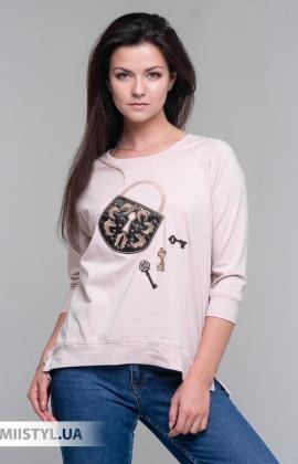 Блуза Giocco 5794 Пудра/Принт