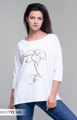 Блуза Giocco 5636 Белый/Принт