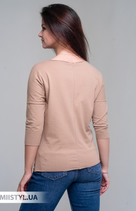 Блуза Giocco 5807 Бежевый/Серебристы/Принт