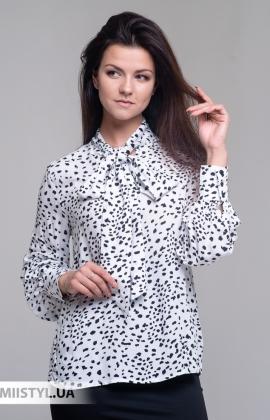Блуза So Sweet 26494 Белый/Черный/Принт