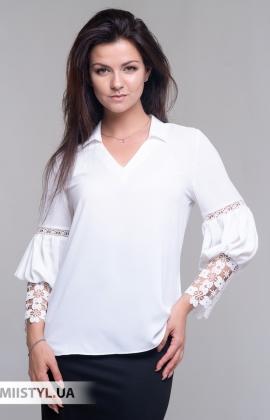 Блуза Moda Linda 10011 Белый
