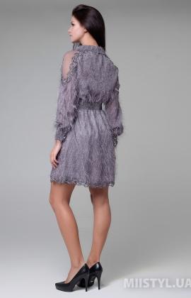 Платье Green World 7341 Серый