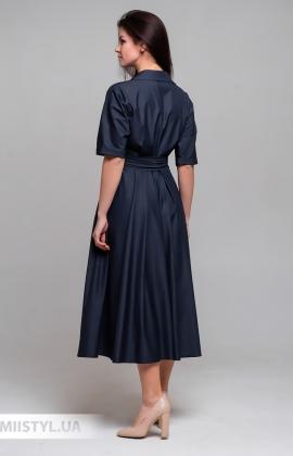 Платье Mira Mia 206019 Темно-синий