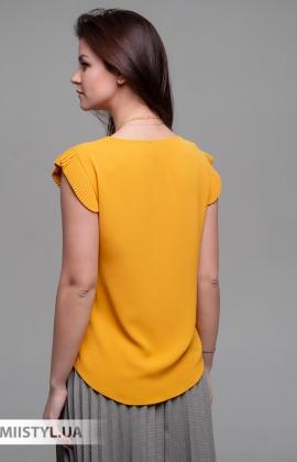 Блуза SHN 4550 Горчичный