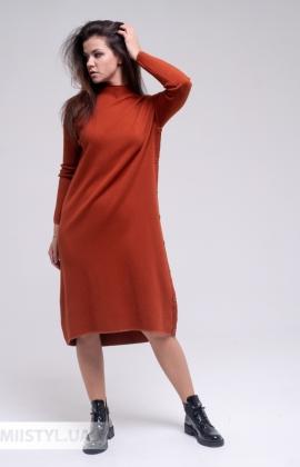 Платье Beauty Women JT7110 Терракотовый