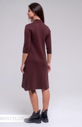 Платье Lara FF05861 Коричневый