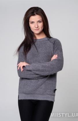 Джемпер Serianno 10C6344 Темно-серый/Люрекс