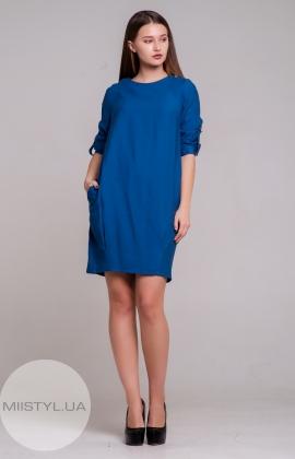Платье F&K 3305 Джинсовый