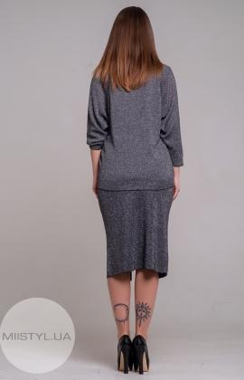 Костюм Serianno 10C4204/5246 Темно-серый/Люрекс