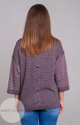 Блуза Serianno 10C5118 Черный/Розовый/Люрекс