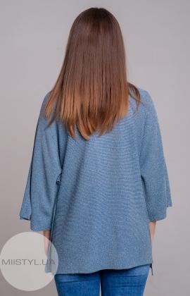 Блуза Serianno 10C2995 Индиго/Люрекс