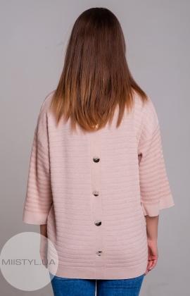 Блуза Serianno 10C5118 Пудра/Люрекс
