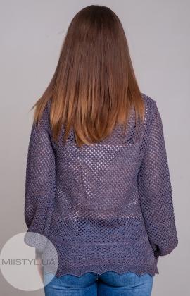 Блуза Serianno 10C5086 Фиолетовый/Люрекс