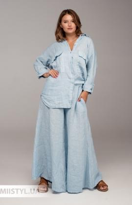 Блуза Moda Linda 3075 Черный/Белый