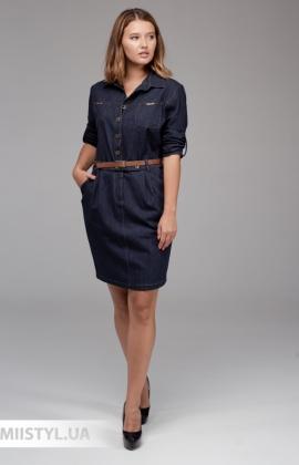 Платье La Fama 1315 Мятный/Принт