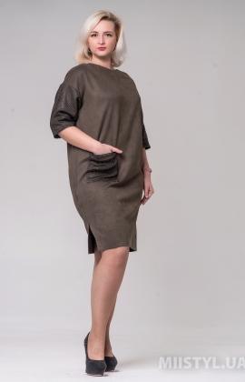 Платье Nikolo Polini 3054 Хаки