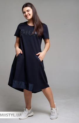 """Платье Di""""Main 4306B Темно-синий"""