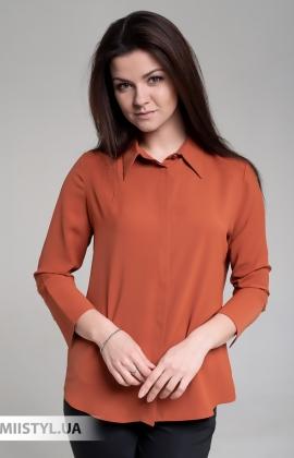 Блуза SHN 4530 Терракотовый