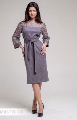 Платье GrimPol 2031 Серый