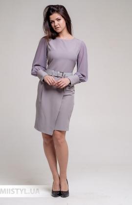 Платье La Fama 1646 Серый