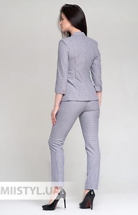 Костюм SHN 2239 Серый/Пудра/Лапка