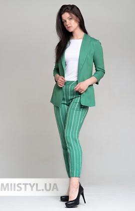 Костюм F&K 15051 Зеленый/Белый/Полоска