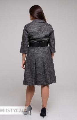 Блуза F&K 4278 Молочный/Черный/Принт