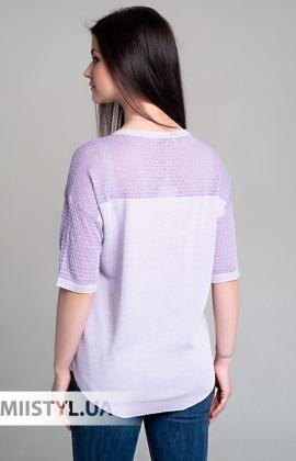 Блуза Serianno 10C5028 Лиловый/Люрекс