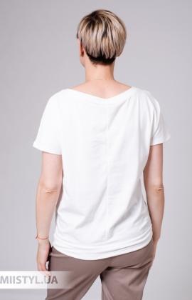 Блуза Vangeliza 19Y-V342 Белый/Принт
