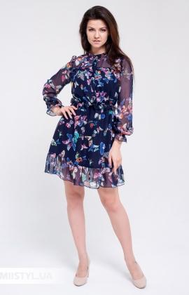 Платье Rica Mare RM1383-20DD Синий